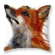 Sly One Throw Pillow