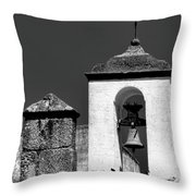 Small Bell Tower Throw Pillow