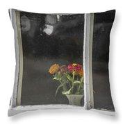 Small Bouquet Throw Pillow