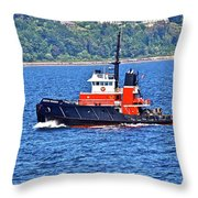 Small But Strong Throw Pillow