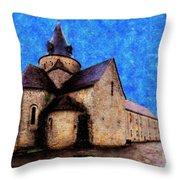 Small Church 1 Throw Pillow