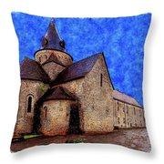 Small Church 2 Throw Pillow