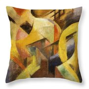 Small Composition I 1913 Throw Pillow