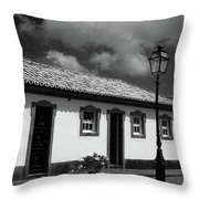Small Cottage Throw Pillow
