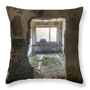 Small Cozy Room Throw Pillow