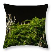 Small Forest Throw Pillow