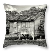 Small House Throw Pillow