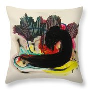 Small Landscape 69 Throw Pillow