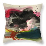 Small Landscape12 Throw Pillow