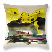 Small Landscape17 Throw Pillow