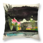 Small Landscape34 Throw Pillow