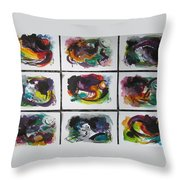 Small Landscape4 Throw Pillow