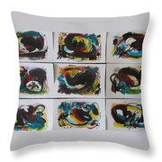Small Landscape5 Throw Pillow