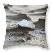 Small Monuments Throw Pillow