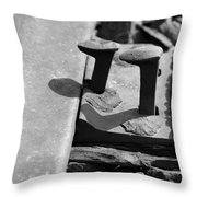 Small Securities Throw Pillow