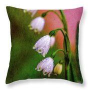 Small Signs Of Spring Throw Pillow