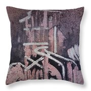 Small Tower 1 Throw Pillow