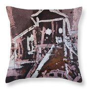 Small Tower 2 Throw Pillow