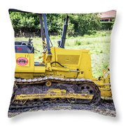 Small Trackor Throw Pillow