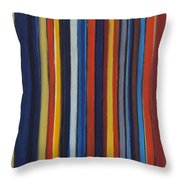 Small Tracks Throw Pillow