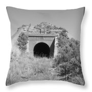 Small Tunnel Throw Pillow