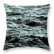 Small Waves Throw Pillow