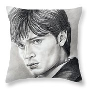 Smallville  Tom Welling Throw Pillow