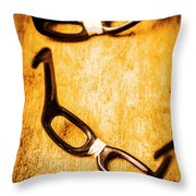 Smart And Smarter Throw Pillow