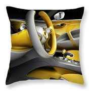Smart For-us Throw Pillow