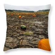 Smashing Pumpkins Throw Pillow