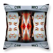 Smilecam 1 Throw Pillow