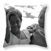 Smiles.. Throw Pillow