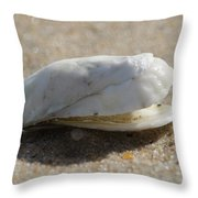 Smiling Shell Throw Pillow
