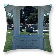 Smith Island Plea Throw Pillow