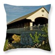Smith Millennium Bridge At Sunset Throw Pillow