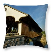 Smith Millennium Bridge Throw Pillow