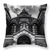 Smithsonian Arts And Industries Building Throw Pillow