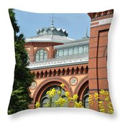 Smithsonian Bloom Throw Pillow