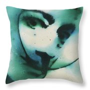 Smoke Bomb Dali 1 Throw Pillow