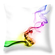 Smoke Throw Pillow