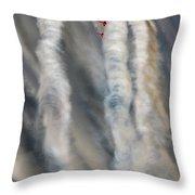 Smoke Painting Throw Pillow