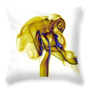 smoke VIII c Throw Pillow