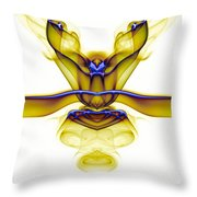 smoke VIII c_mb2 Throw Pillow