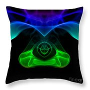 smoke XXXII mb1 Throw Pillow