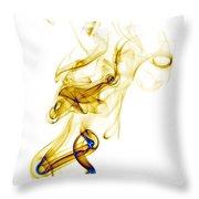 smoke XXXIX Throw Pillow