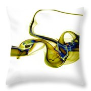 smoke XXXVII Throw Pillow