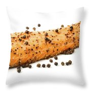 Smoked Salmon Fillet With Black Pepper Throw Pillow