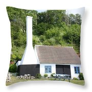 Smokehouse. Denmark Throw Pillow
