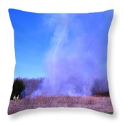 Smokenado Throw Pillow