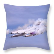 Smokers Throw Pillow